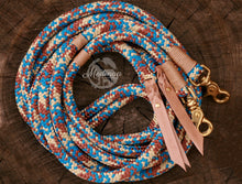 Load image into Gallery viewer, Rope Reins - Beige Cowgirl