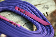 Load image into Gallery viewer, Rope Reins - Purple Crush