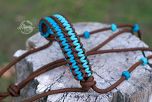 Load image into Gallery viewer, Training Halter - Walnut/Turquoise