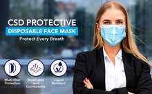 Load image into Gallery viewer, Case of Disposable Adult CSD Masks (2000pcs), Best Value Offer