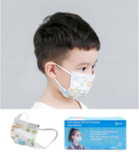 Load image into Gallery viewer, Case of Disposable CSD Kid's Masks (2000pcs) *BLOWOUT*