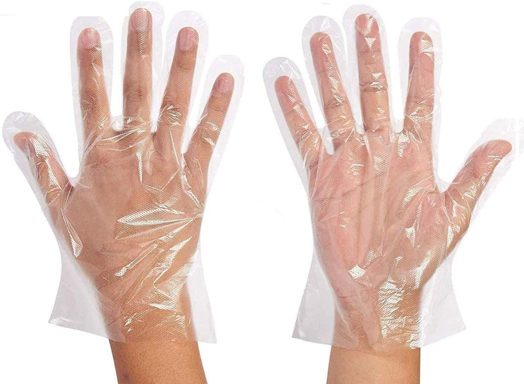 Wholesale Cartons of Disposable PE (Polyethylene) Gloves (10,000pcs)