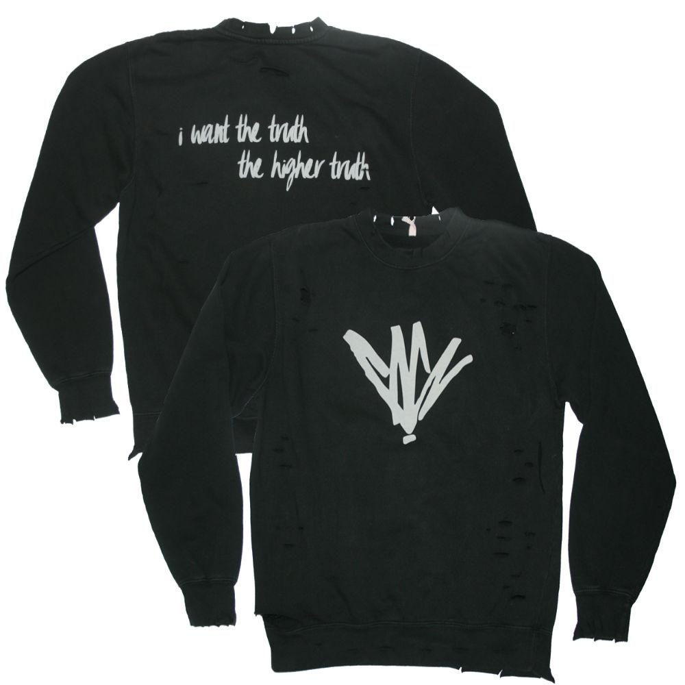 Higher Truth Distressed Sweatshirt