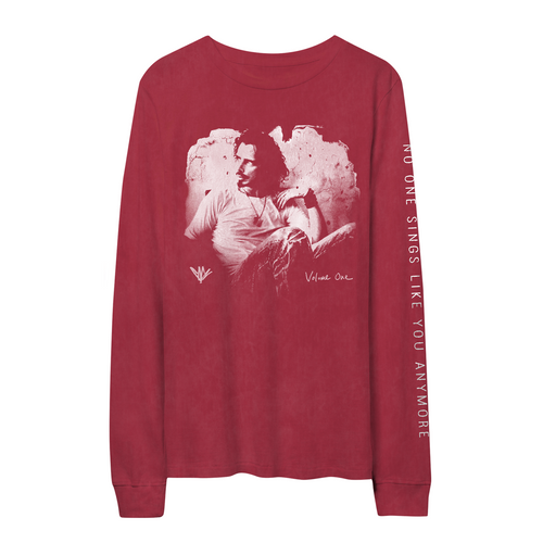 Painted Chris Cornell Red Longsleeve