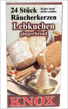 Gingerbread-scented incense for burners