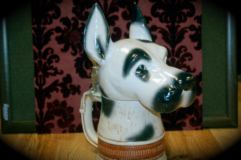 Great Dane Harlequin Stein