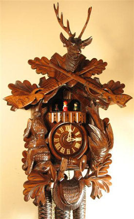 After the Hunt Cuckoo Clock