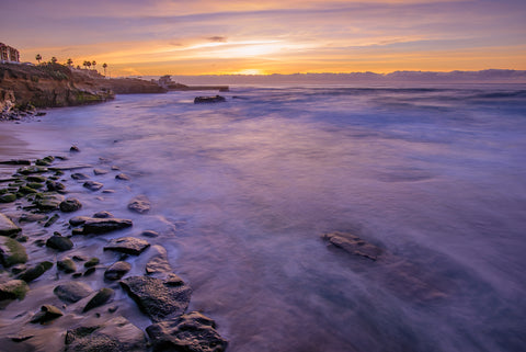 La Jolla Cove, San Diego Sunset by McClean Photography