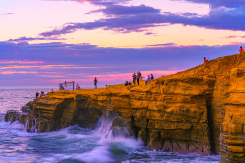 Sunset Cliffs, San Diego Sunset by McClean Photography