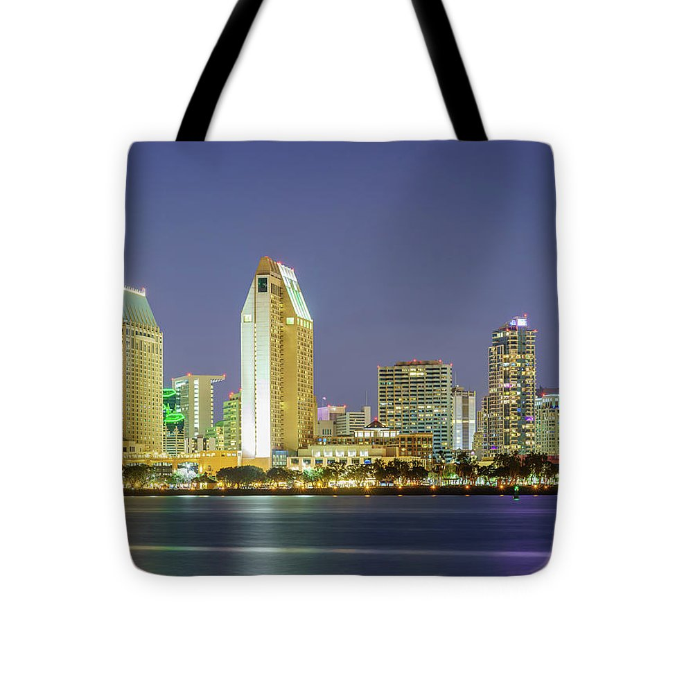 America's Finest City By Mcclean Photography - Tote Bag