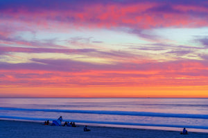 Pacific Beach, San Diego Sunset Digital Download by McClean Photography