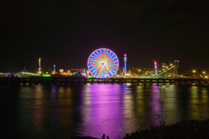 Del Mar Fair Ferris Wheel, San Diego Digital Download by McClean Photography