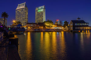 Seaport Village San Diego Digital Download by McClean Photography