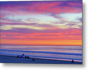 Cloudy Judgement In San Diego - Metal Print-Metal Print-McClean Photography