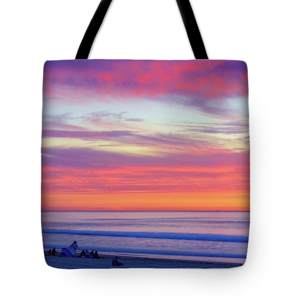 Cloudy Judgement In San Diego - Tote Bag