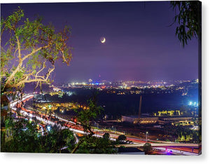 Eclipse At University Heights, San Diego - Acrylic Print