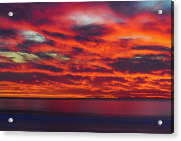 Fire And Brimstone In San Diego - Acrylic Print