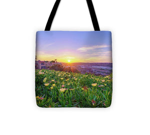 Full Boom Flowers In San Diego, California By Mcclean Photography - Tote Bag