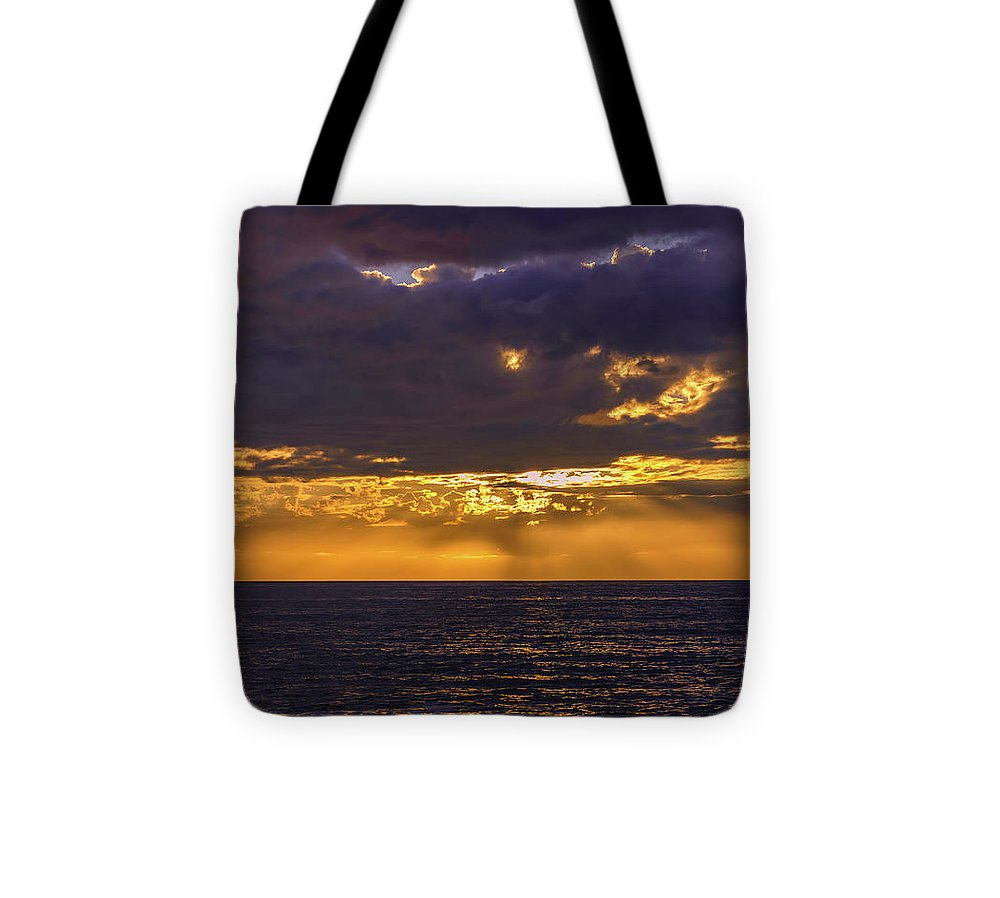 Golden Hour In San Diego - Tote Bag