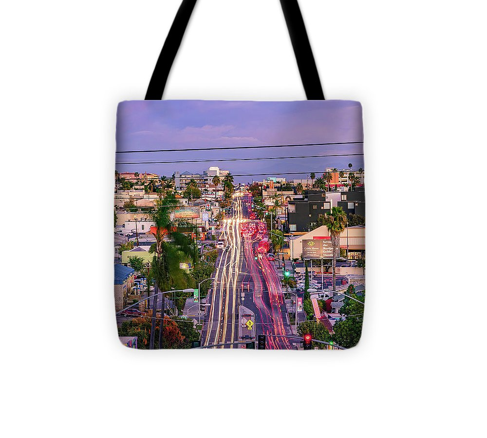 High View Of North Park, San Diego - Tote Bag