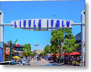 Little Italy, San Diego - Metal Print