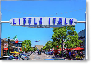 Little Italy, San Diego - Greeting Card