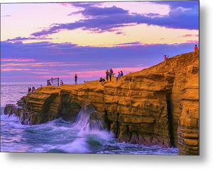 Living On The Edge - Metal Print-Metal Print-McClean Photography