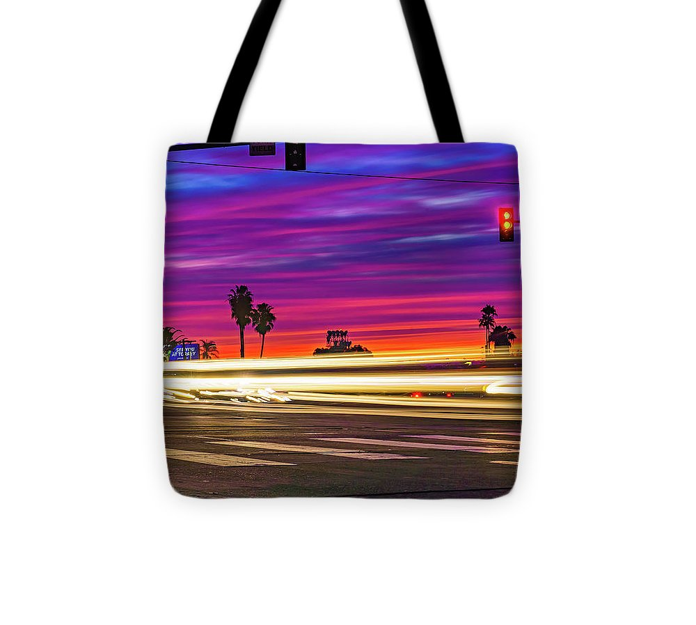North Park San Diego Sunset At Normal St. - Tote Bag