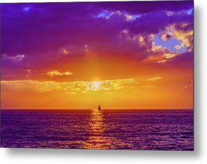 Sail The 7 Seas in San Diego, California - Large Metal Print