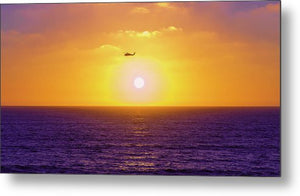 Saved By The Coast Guard In San Diego - Metal Print-Metal Print-McClean Photography