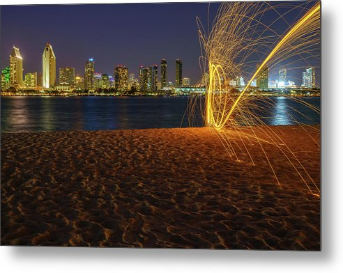 Spin Cycle - Metal Print