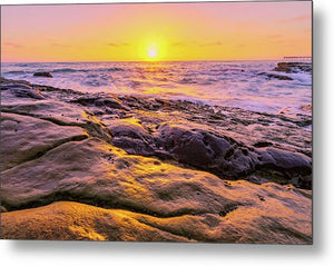 Sun Kissed In San Diego, California - Metal Print