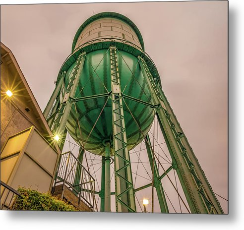 North Park Water Tower - Metal Print
