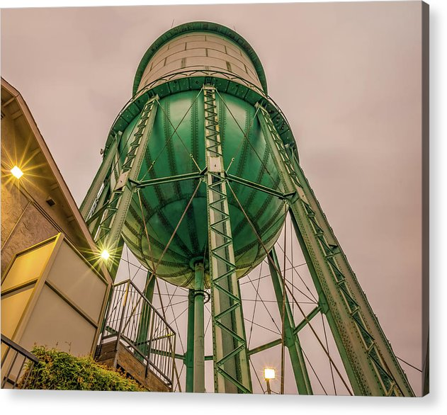 North Park Water Tower - Acrylic Print