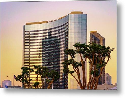 Time To Reflect In San Diego, California - Metal Print