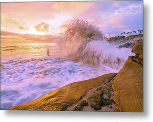 Wave Monster - Metal Print-Metal Print-McClean Photography
