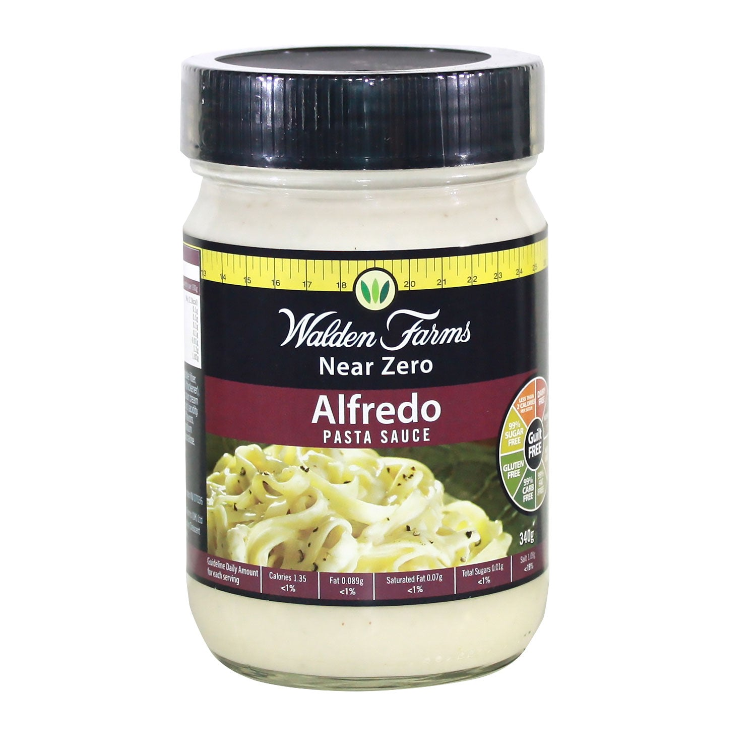 Dairy Free Alfredo Pasta Sauce with Near Zero Calories, Fats, & Carbs