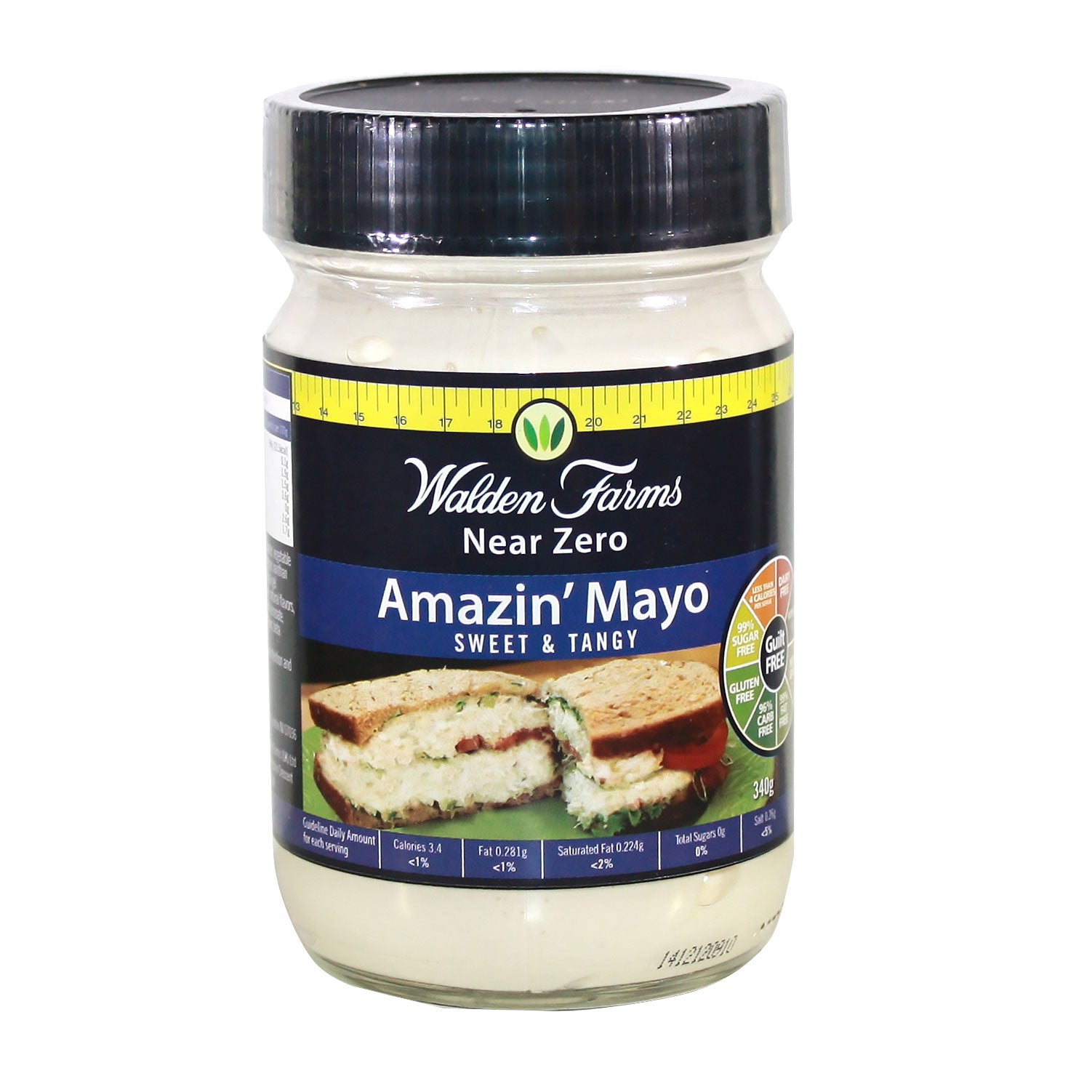 Gluten Free Sweet & Tangy Amazin' Mayo with Near Zero Sugar and Fats