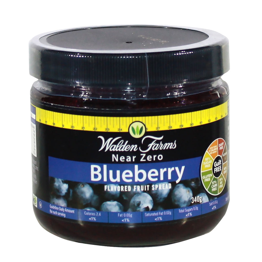 99% Fat Free Blueberry Fruit Spread w/ Near Zero Calories, Fats & Carb