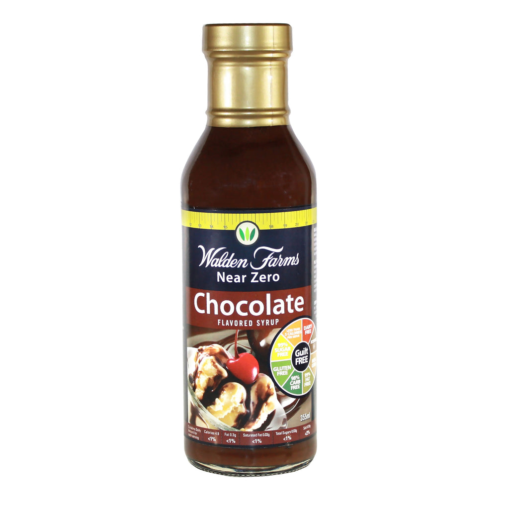 Gluten Free Chocolate Syrup with Near Zero Calories & Fats