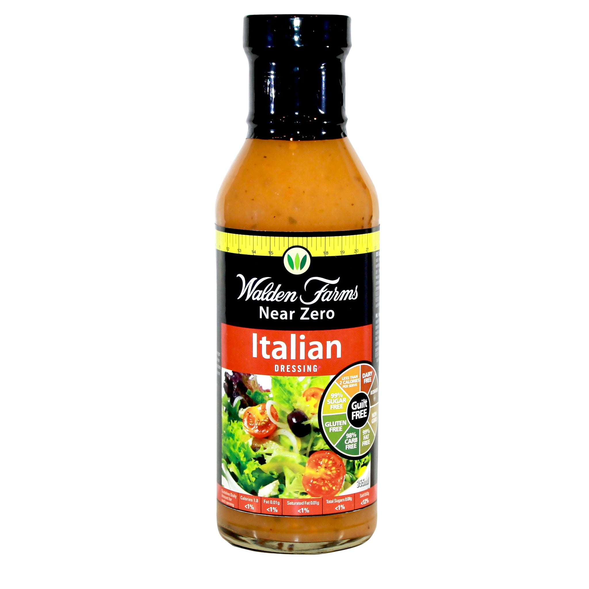 Gluten Free Italian Dressing with Near Zero Fat, Sugar and Calories