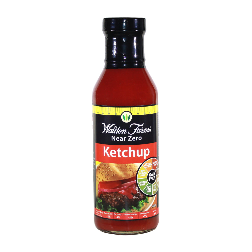Gluten Free Vegan Tomato Ketchup with Near Zero Fat, Calorie & Sugar