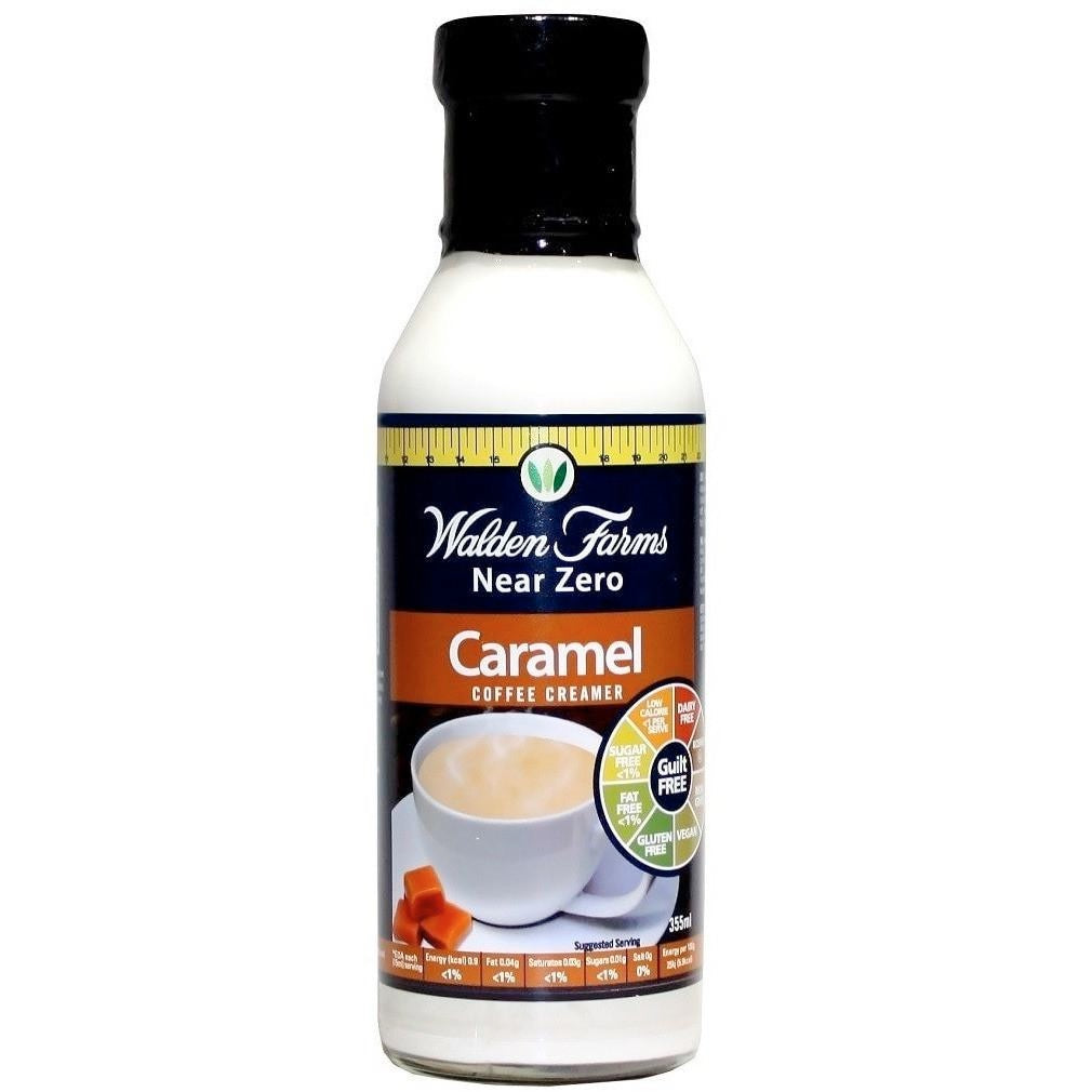 Gluten Free Caramel Coffee Creamer with Near Zero Calorie, Fat & Sugar