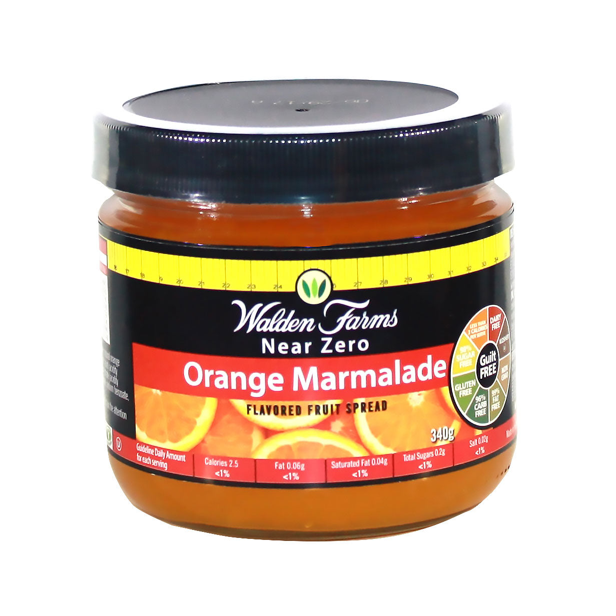 Dairy Free Vegan Orange Marmalade with Near Zero Calories, Fat & Sugar