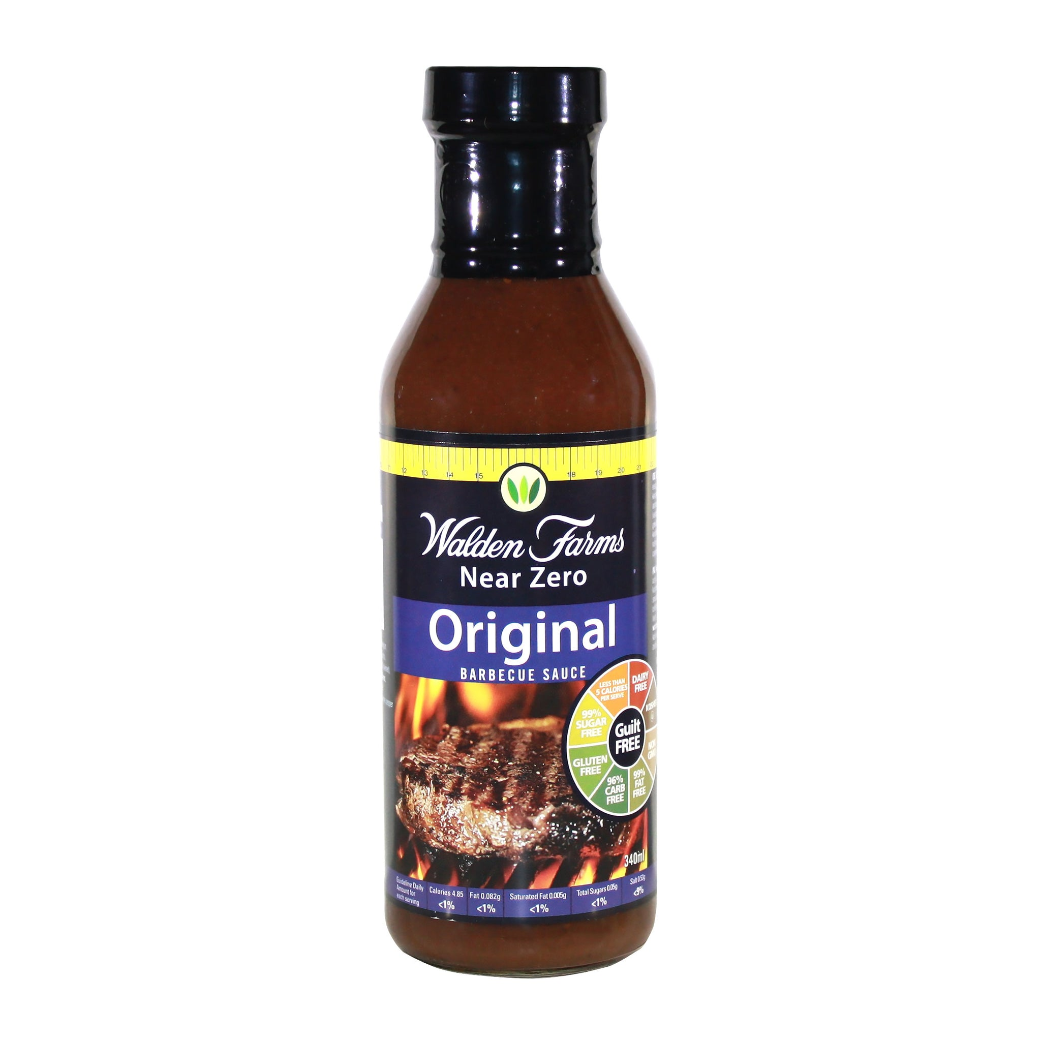 Dairy Free Vegan Original Barbecue Sauce with Near Zero Fat and Sugar