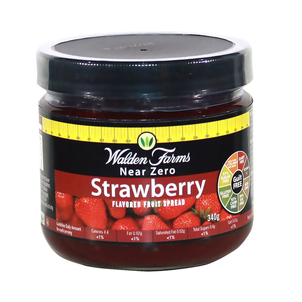 Non GMO Gluten Free Strawberry Spread w/ Near Zero Sugar, Fats & Carbs
