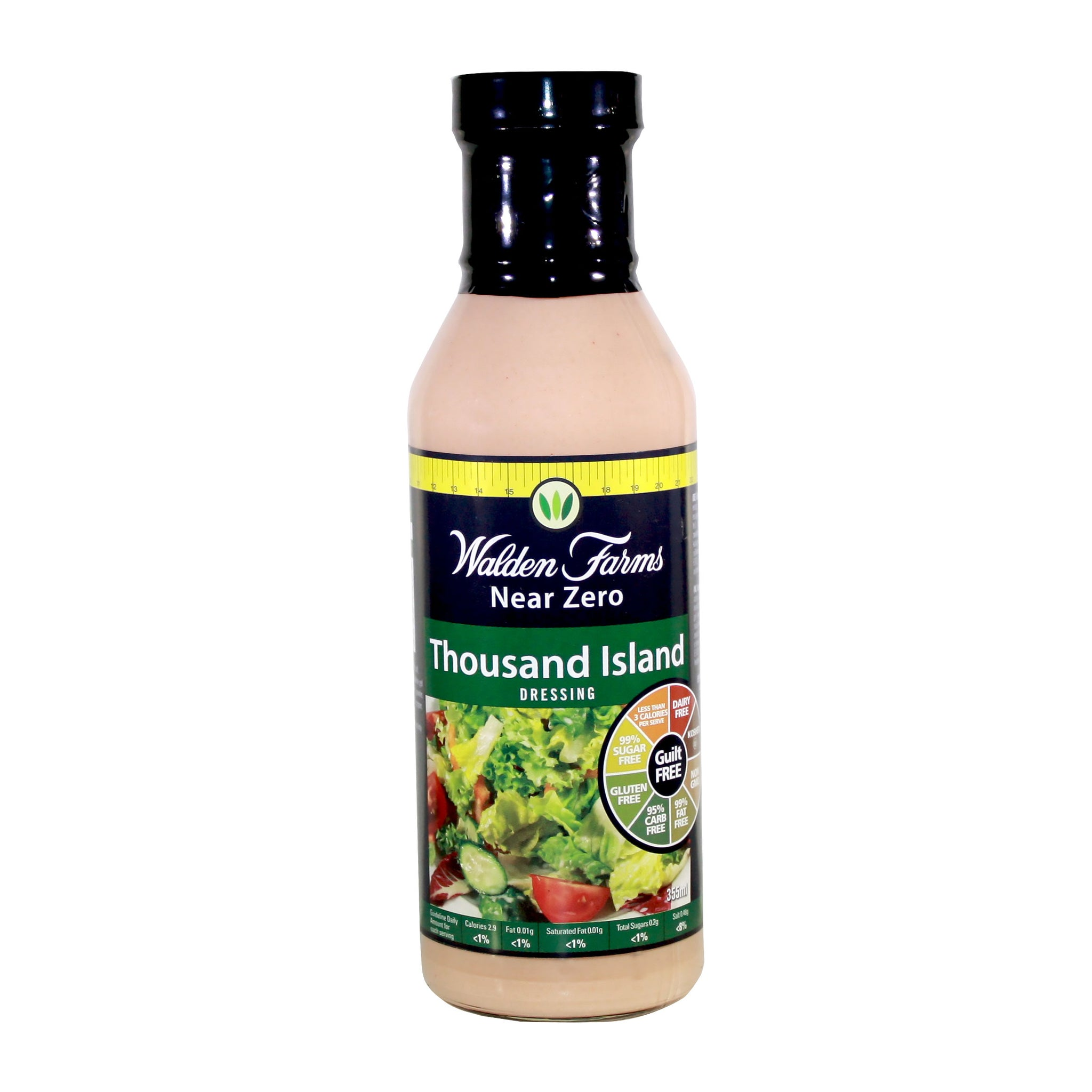 Vegan Thousand Island Dressing with Near Zero Fat, Sugar and Calories