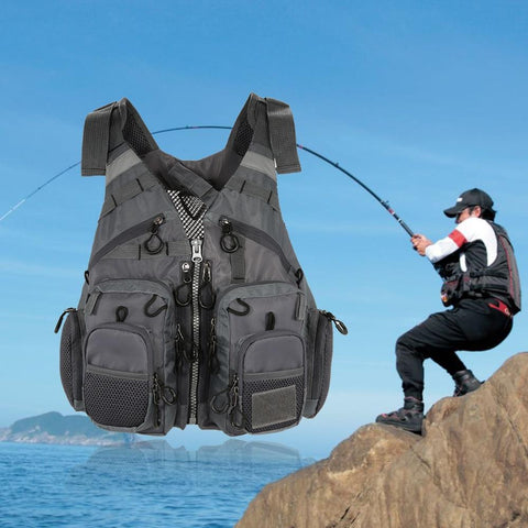Men Breathable Fishing Vest
