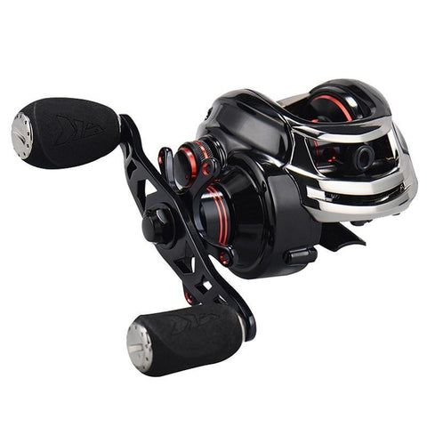 Magnetic and Centrifugal Fishing Reel