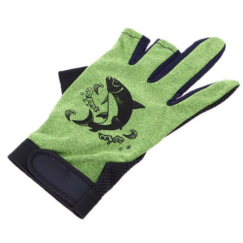 Skidproof Resistant Fishing Gloves